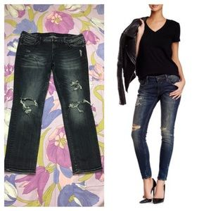 EUC Vigoss Distressed the Thompson tomboy Jeans